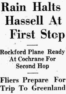 19280817 Rain Halts Hassell