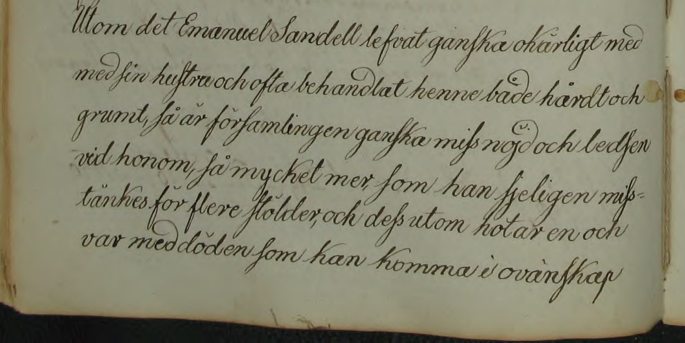 Källa: ArkivDigital; Södra Sandsjö KI:1 (1823-1862) Bild 56 / sid 105.