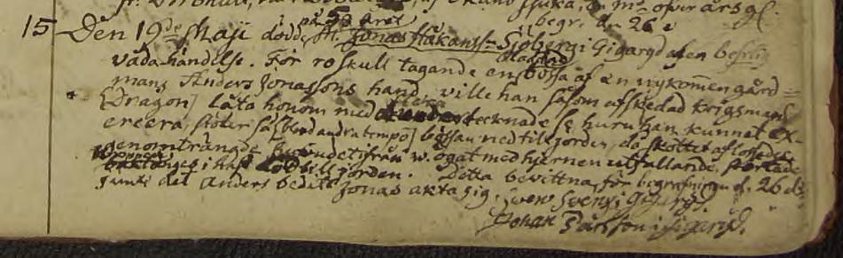 Källa: ArkivDigital: Hjälmseryd C:3 (1780-1809) Image 262 / page 507.