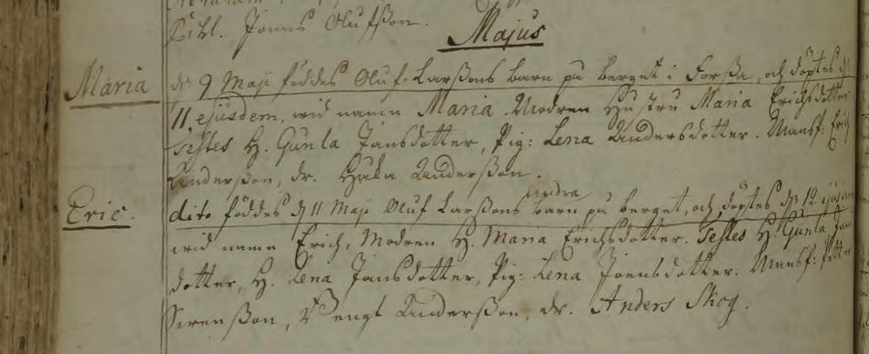 Källa: ArkivDigital: Synnerby C:2 (1737-1784) Bild 1900 / sid 459.