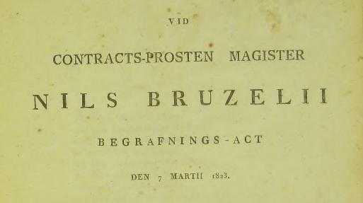Försättsbladet till Tegnérs dikt. Källa: ArkivDigital: Västra Tommarp CI:2 (1784-1839) Bild 165 / sid 186.
